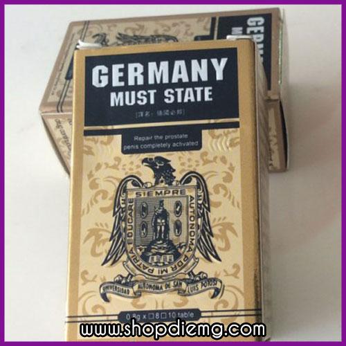 Germany Must State - thuốc tăng cường sinh lực cho nam giới nhập khẩu Đức