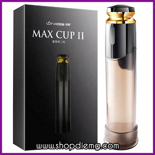 Máy tập dương vật cao cấp Max Cup II