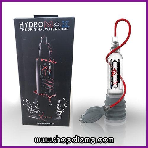 Máy tập to dương vật bằng nước Hydromax Xtreme X30
