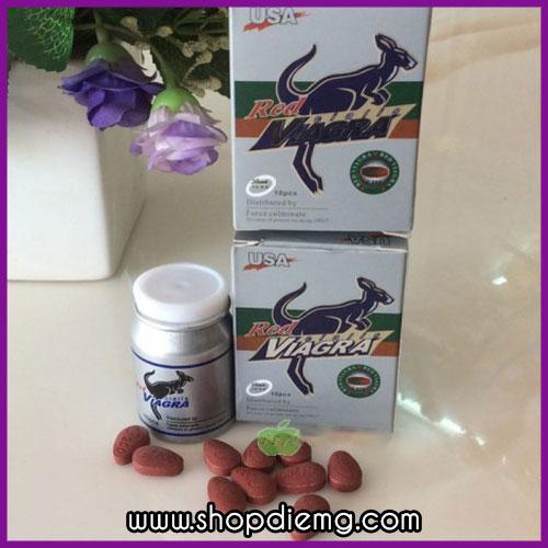 Red Viagra Cialis 200mg thuốc tăng ham muốn ở nam giới