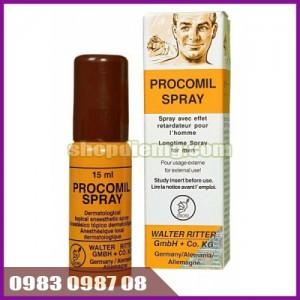Chai xịt trị xuất tinh sớm Procomil Spray