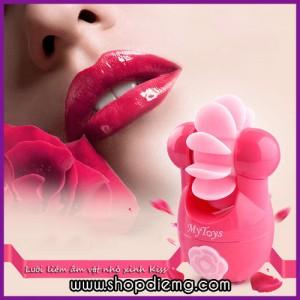 Sextoy nữ - lưỡi liếm kích thích âm đạo cao cấp Kiss tạo cảm giác phê tít