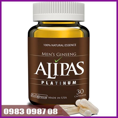 Thuốc sâm Alipas Platinum tăng cường sinh dục nam giới