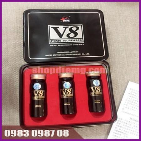 V8 6800mg - thuốc tăng cường sinh lý nam giới