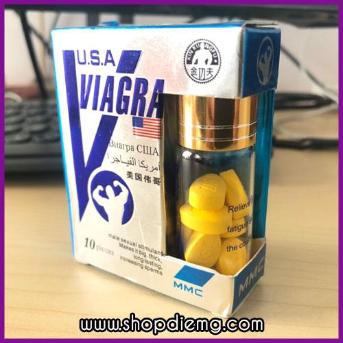 Thuốc cường dương cực mạnh Viagra của Mỹ