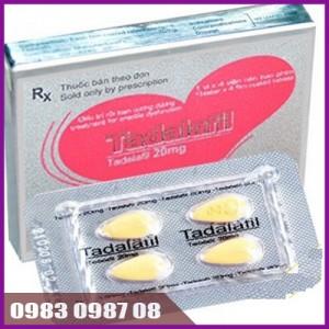 Thuốc cường dương cực mạnh Tadalafil 20mg