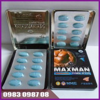 Thuốc tăng cường sinh lý MAXMAN 10 viên 3800mg