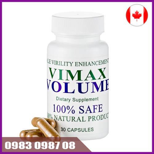 Thuốc cải thiện chất lượng tinh trùng Vimax Volume Canada