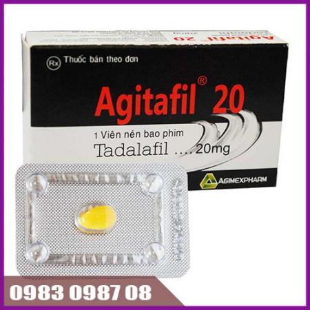 Thuốc tăng cường sinh lý nam Agitafil 20
