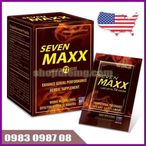 Thuốc thảo dược Seven Maxx USA