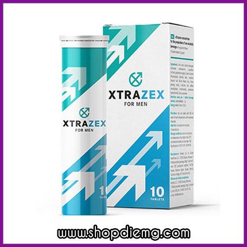 Viên sủi uống XTRAZEX NGA – Hỗ trợ quan hệ lâu ra, tăng ham muốn nam giới