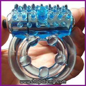 Vòng đeo dương vật silicon massage âm đạo
