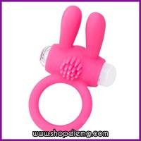 Vòng rung cho nam giới tai thỏ Love Toy siêu mềm mại