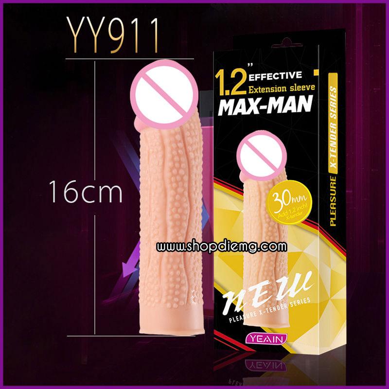 Bao cao su đôn dên maxman siêu gân kích thích mạnh mẽ 2