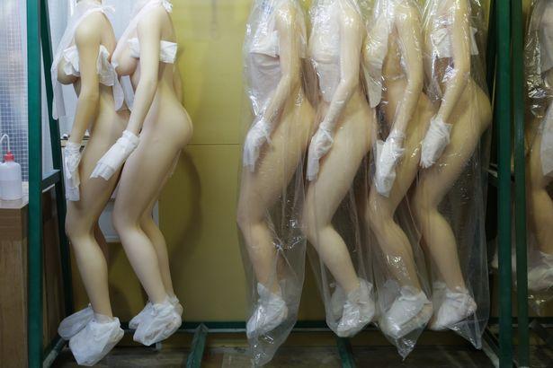 búp bê tình dục được sản xuất như thế nào