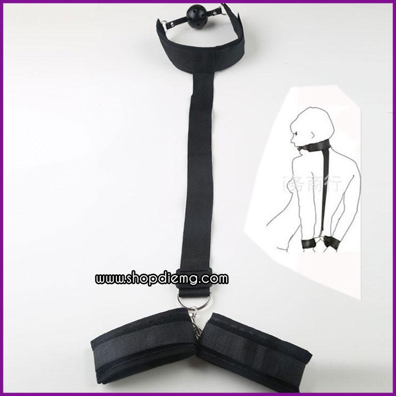Dây khóa hàm, còng tay độc đáo 5
