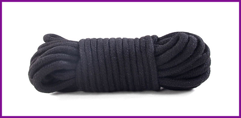 Đồ chơi tình yêu trói tay chân trên giường 5