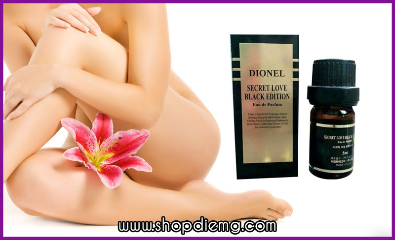 Dionel secret love 5ml nước hoa xịt vùng kín Hàn Quốc 1