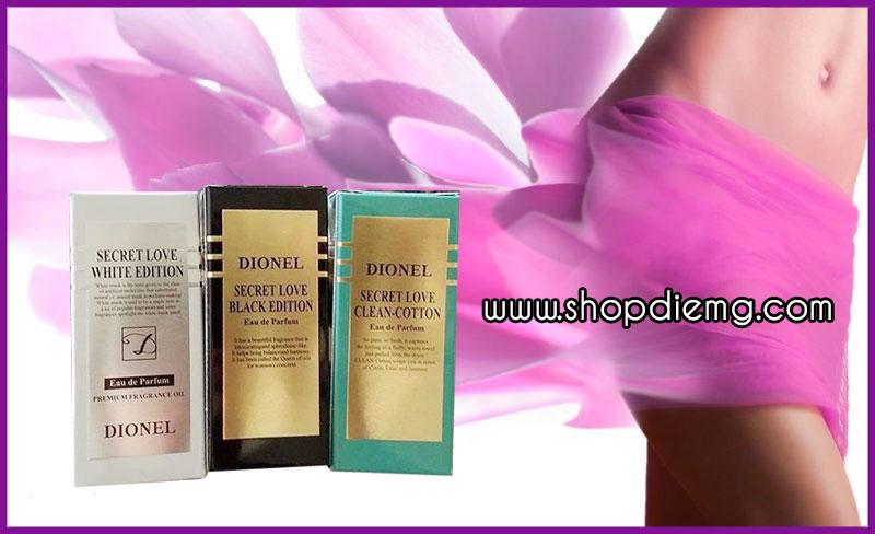 Dionel secret love 5ml nước hoa xịt vùng kín Hàn Quốc 6