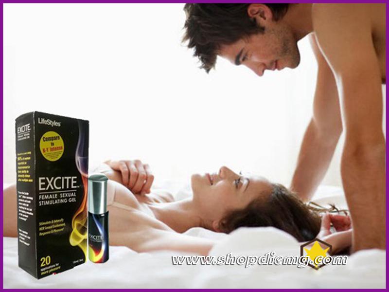 Gel bôi trơn tăng khoái cảm cho nữ Exciter 2