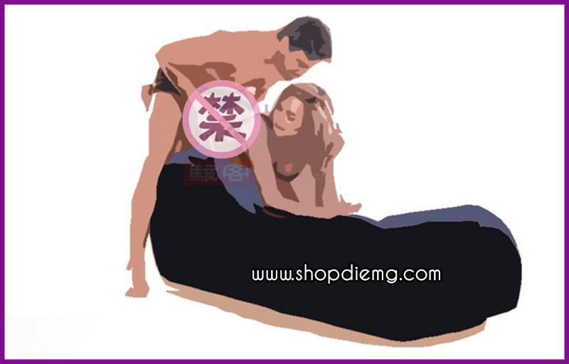 Ghế tình yêu bơm hơi cao cấp Tantra tư thế quan hệ 3