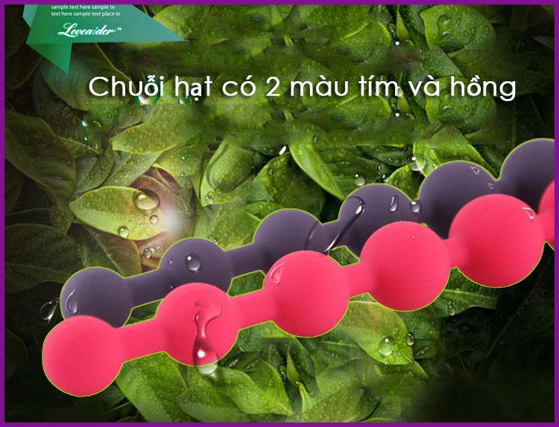 Chuỗi hạt kích thích hậu môn loveaider 2