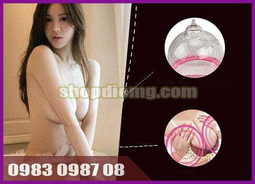 Cách làm tăng vòng 1 bằng máy massage kích thích to ngực