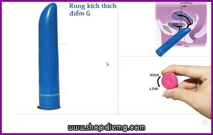Máy matxa mini kích thích điểm G phụ nữ với đa tầng số rung 2