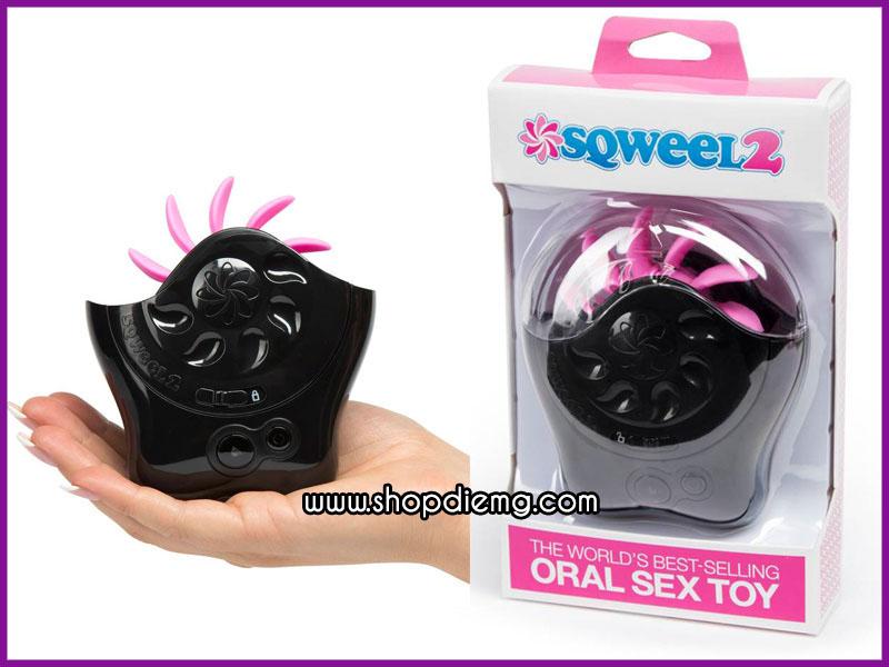 Máy liếm âm đạo Sqweel dụng cụ tự sướng cho nữ 8