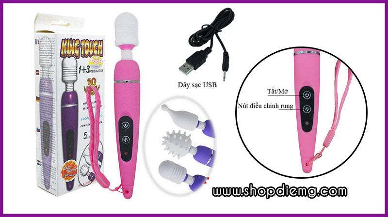 Máy rung massage vùng kín mini cho quý bà thủ dâm 5