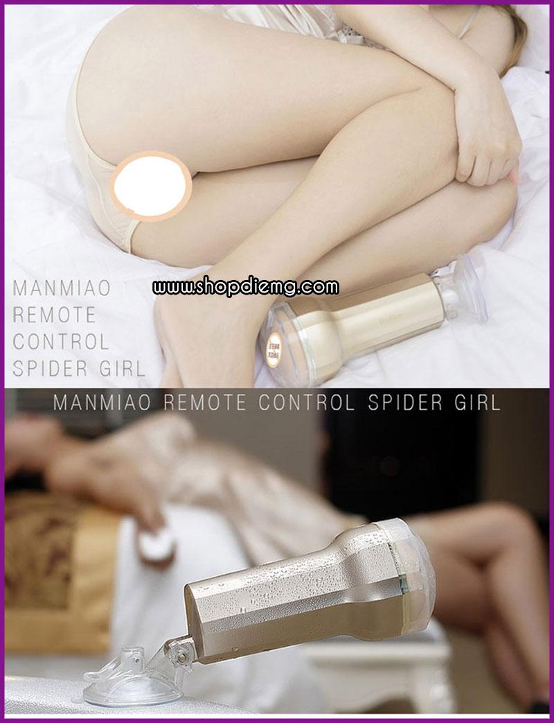 Cốc thủ dâm gắn tường điều khiển từ xa ManMiao Gold 13