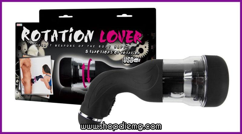 Máy thủ dâm cao cấp tự động cho nam Auto Rotation Lover 11