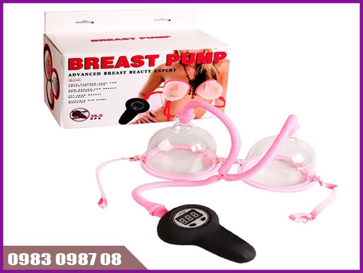 Cách tăng vòng 1 hiệu quả nhất bằng máy breast pump hút nở ngực chân không