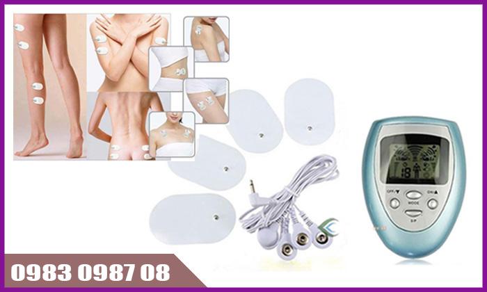 Cách làm nở ngực tự nhiên bằng máy mát xa xung điện trị liệu