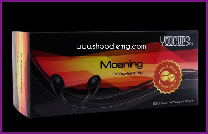 Cốc thủ dâm âm đạo có âm thanh Youcup Moaning 5