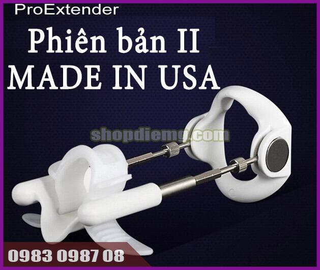 Máy tập kéo dài dương vật pro extender v2 sản xuất tại Mỹ