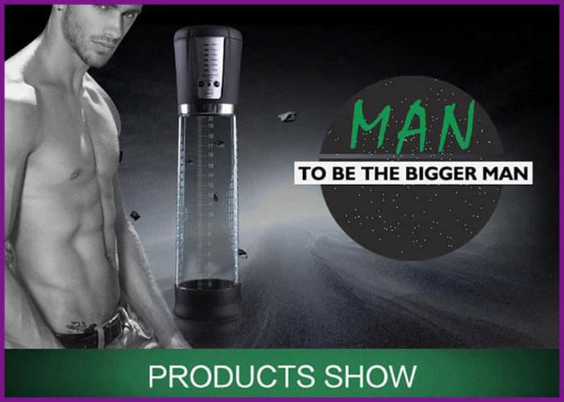 Sử dụng máy tập làm to dương vật tự động Men PowerPro