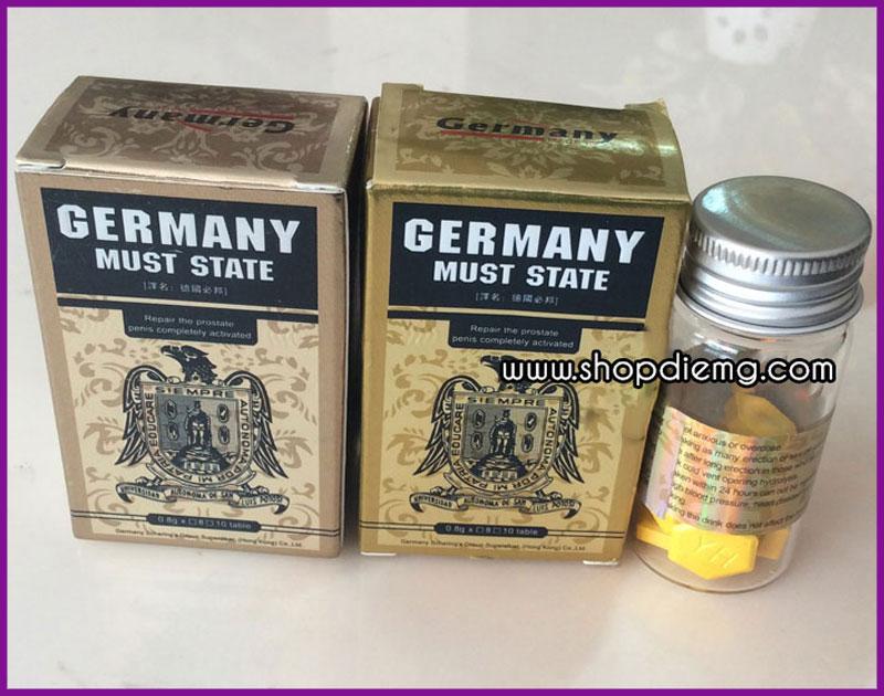 Germany Must State thuốc tăng cường sinh lực cho nam giới