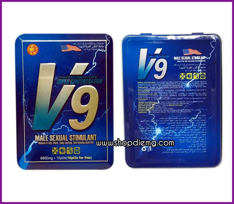 Thảo dược V9 thuốc cường dương cho nam giới