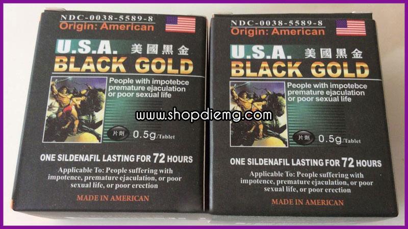 Thuốc black gold usa cách làm cương dương lâu 1
