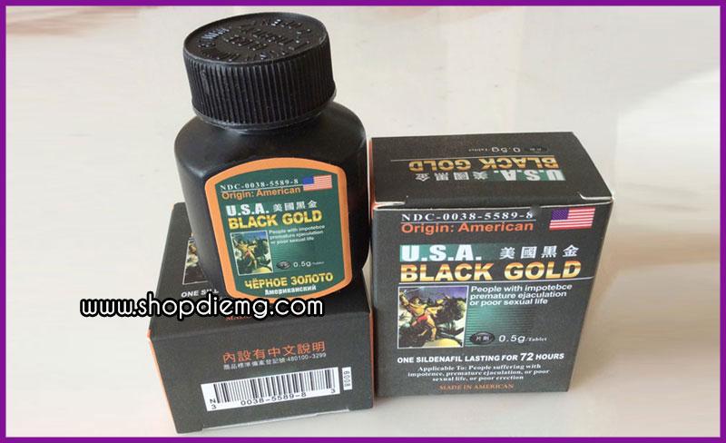 Thuốc Black Gold Usa cách làm cương dương lâu 2