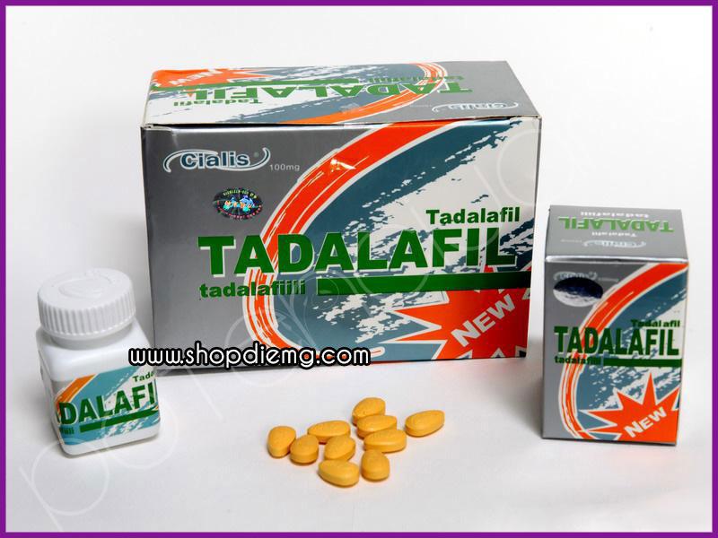 Thuốc cương dương Cialis Tadalafil 100mg, trị rối loạn cương dương cho nam giới 3