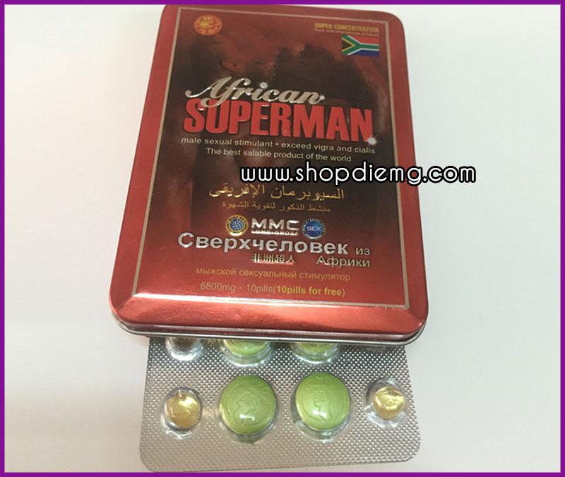 Thuốc cường dương SuperMan 2