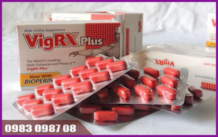 Thuốc thảo dược VigRX plus - tăng khả năng sinh lý nam giới