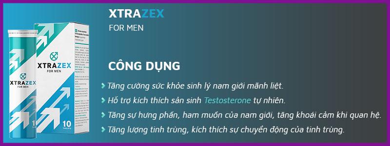 Viên sủi uống XTRAZEX NGA 1