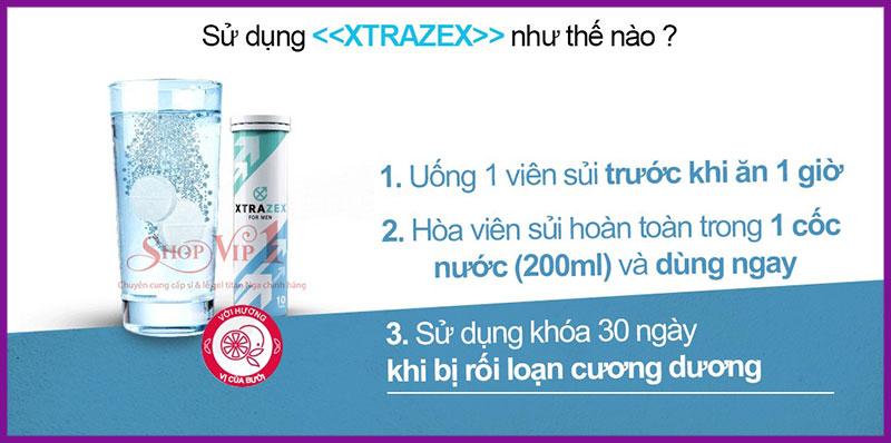 Viên sủi uống XTRAZEX NGA 6