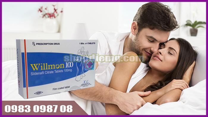 Cải thiện sinh lý nam giới, kéo dài thời gian quan hệ Willmon 100mg