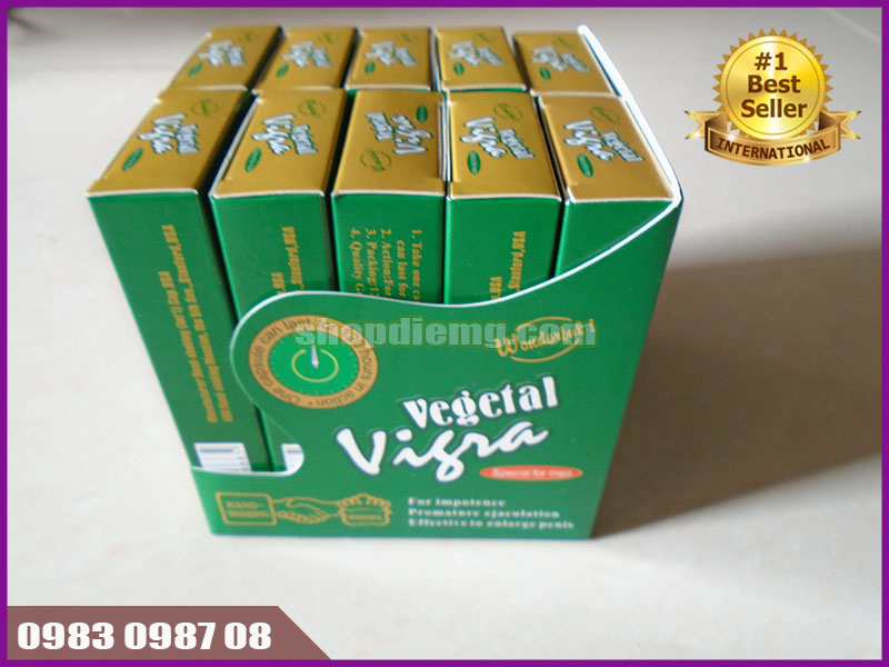 Thuốc cường dương bằng thảo dược Vegetal Vigra 120mg