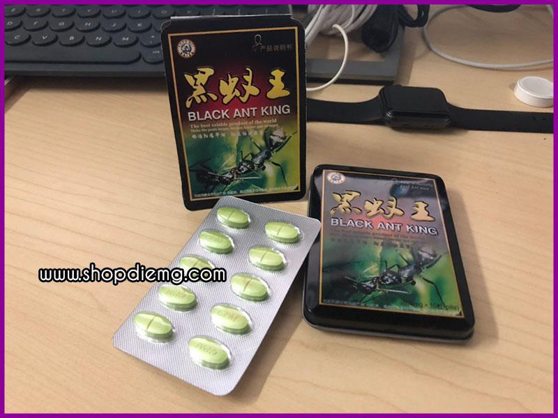 Thuốc tăng cường sinh lý nam kiến thái đen Black Ant King 2