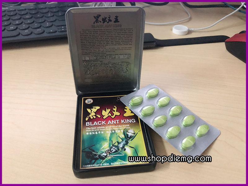 Thuốc tăng cường sinh lý nam kiến thái đen Black Ant King 4